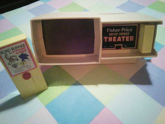 Juguete De Colección. Teatro Proyector Fisher Price. Años 70