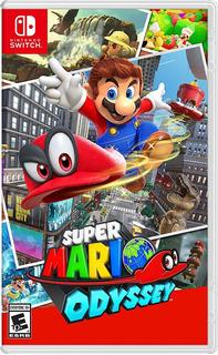 Super Mario Odyssey Nintendo Switch Juego Nuevo