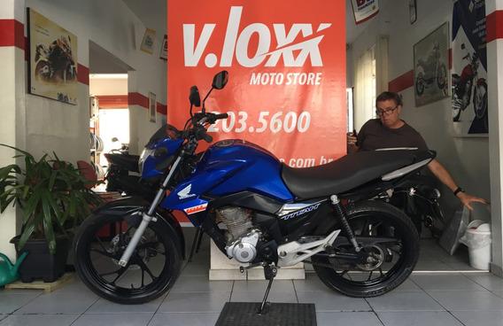 Honda Cg 160 Titan Ex Azul Ano 2019