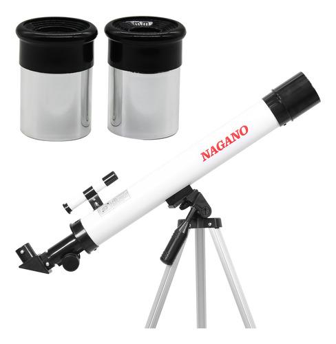 Telescópio De Refração Astronômico 50 X 600 - 100x Com Tripé