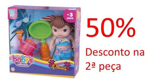 Promoção Boneca Babys Collection Praia 411
