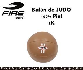 Balon Pelota Medicinal Piel Ejercicios Fire Sports 2 Kg
