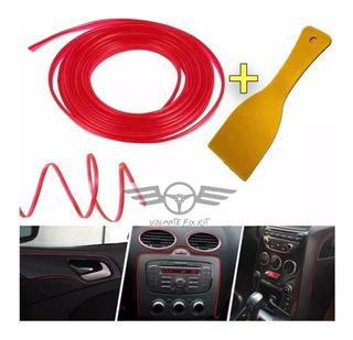 Moldura Femenina Accesorio Auto,mujer,fácil Instalación 4mtr