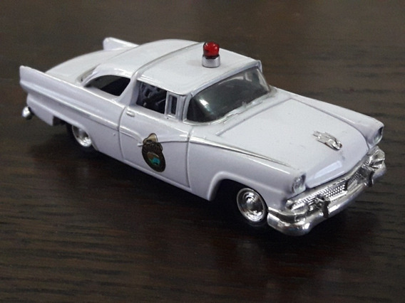 Johnny Lightning Ford Vic 56 Police E1/64 Gm Colecciones
