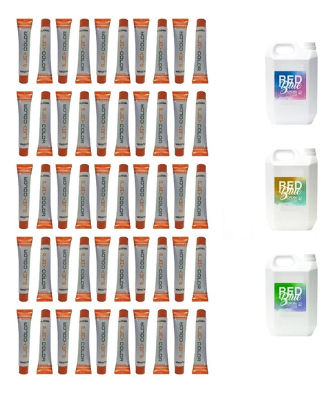 Tinturas Plasma Playcolor 30 3 Crema Oxidante 2l 20 30 40