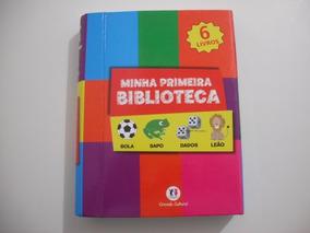 Livro Infantil Minha Primeira Biblioteca Kit 6 Livrinhos
