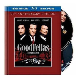 Goodfellas Blu-ray 20th Aniversary