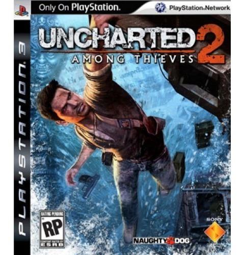 Jogo Uncharted 2 Among Thieves - Ps3 Mídia Física Usado