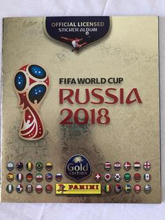 Álbum Rússia Copa 2018 Edição Suíça