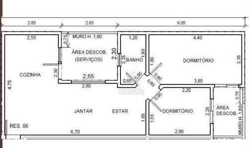 Cobertura Com 2 Dormitórios À Venda, 82 M² Por R$ 363.000,00 - Vila América - Santo André/sp - Co5431