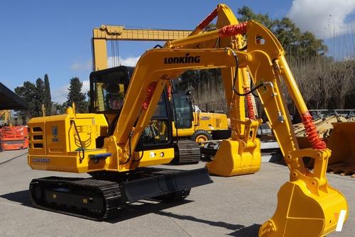 Excavadora Lonking Cdm6060 Balde 0,25 M3 Potencia 49 Hp