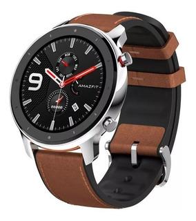 Reloj Xiaomi Amazfit Gtr 47 Mm Smatwatch Gps Malla Cuero