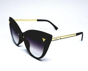 f4587b5eb Óculos De Sol Feminino Fashion Design Proteção Uv400 - Calçados ...