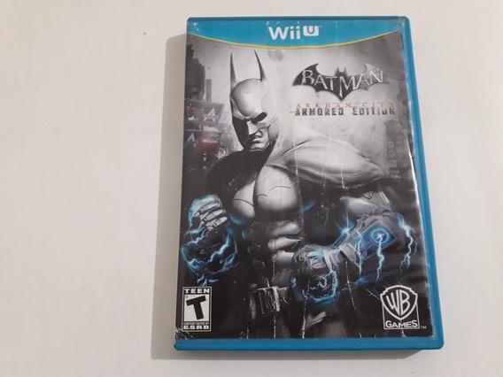Wiiu Batman Arkham City Armored Edition Funcionando #854