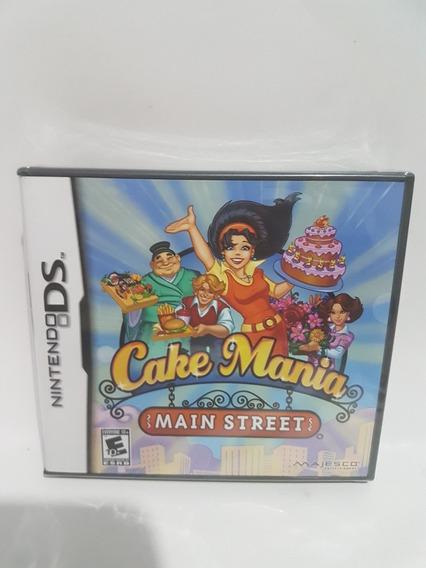 Jogo Ds Cake Mania Main Street Original Lacrado