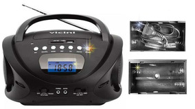 Rádio Portátil Entrada Usb Entrada Auxilar Bivolt Gravador
