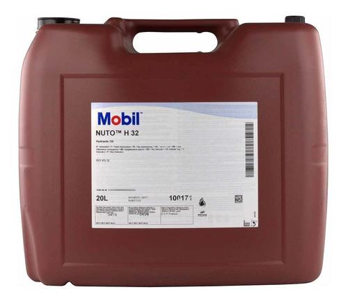 Aceite Hidraúlico Mobil Nuto H32 X20 L Lubricentro Lubrione