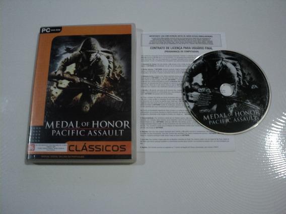 Jogo Pc Original - Medal Of Honor Pacific Assault - Dvd F20