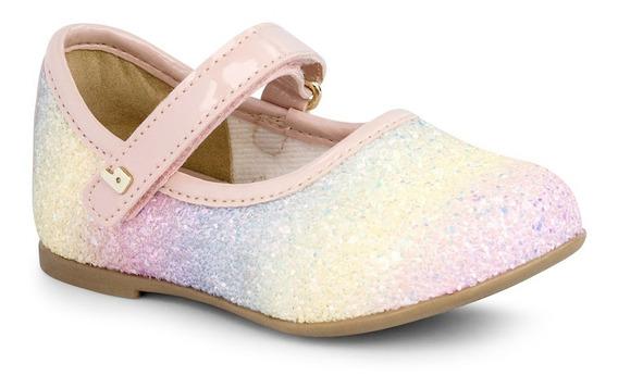 Sapatilha Infantil Bibi Fem Anjos Mini - Glitter E Unicórnio