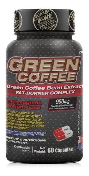 Café Verde Cápsulas Green Coffee Extract 60 Caps Thermogénic
