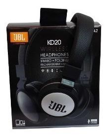 Audifonos Jbl Kd-20 De Bluetooh Inalambrico Mp3 Micro-sd