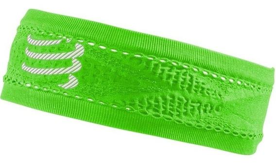 Vincha Compressport Thin Headband Verde Envio A Todo El Pais