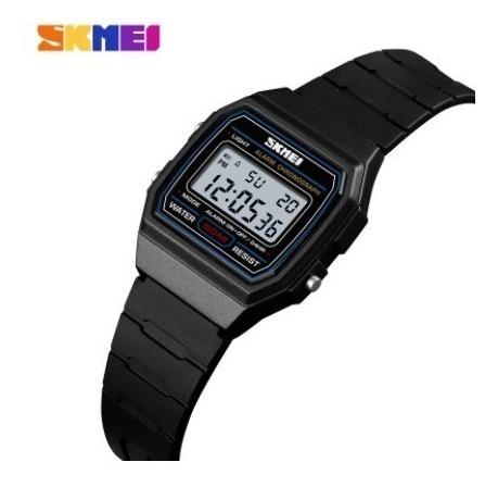 Relógio Digital Skmei 1460 Similar Casio Feminino Pequeno