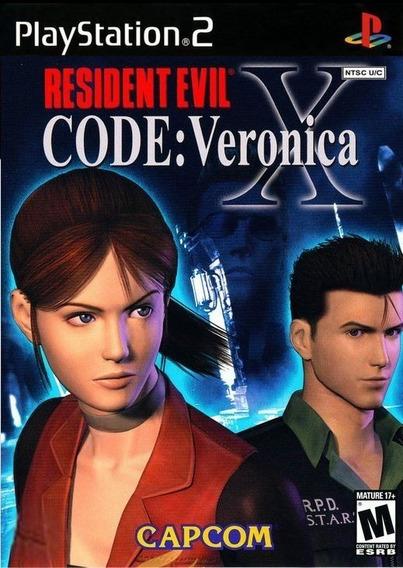 Jogo Resident Evil Code Veronica Ps2
