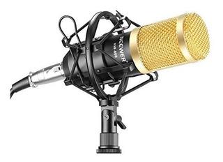 Micrófono Neewer Nw800 Transmisión De Estudio Profesional