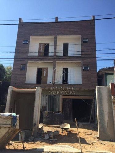 Cobertura Com 2 Dormitórios À Venda, 108 M² Por R$ 300.000 - Parque Oratório - Santo André/sp - Co4378