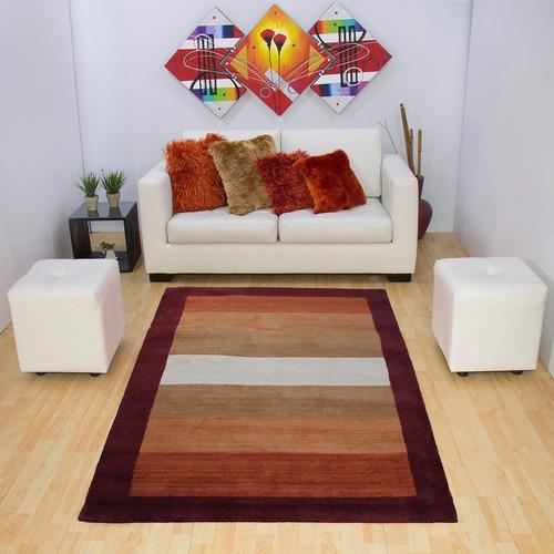 Alfombra Tapete Decorativo De Sala 140 X 200cms Mitapete