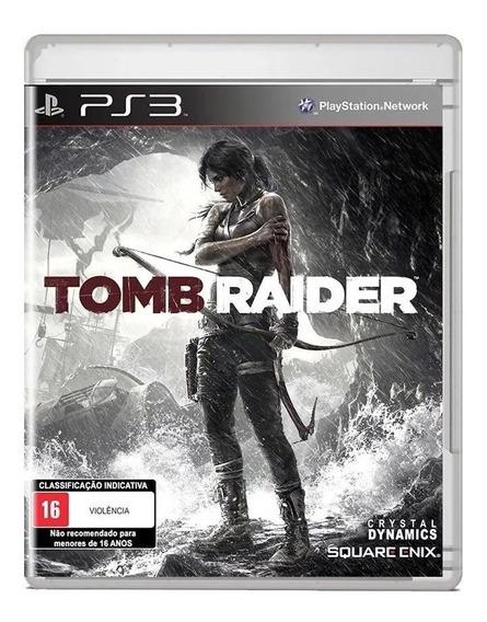 Tomb Raider - Ps3 - Mídia Física (usado)