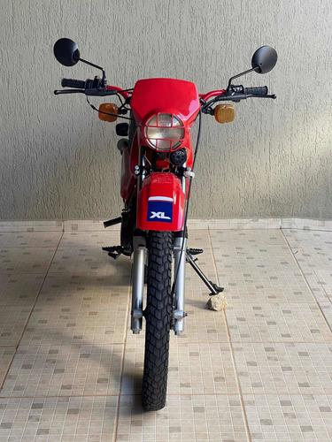 Imagem 1 de 12 de Honda Xl 125 - 1985 - Placa Preta Colecionador - Ac. Trocas