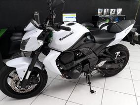 Kawasaki Z750 Branca