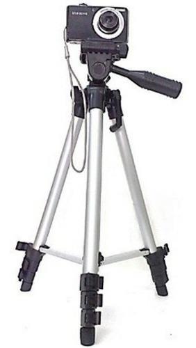 Tripe Universal Aluminio 1.10mt Camera Filmadora Telescopio