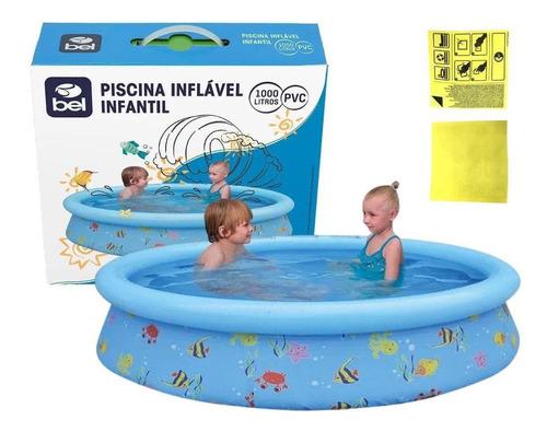 Imagem 1 de 3 de Piscina Inflável Infantil 100033 Bel