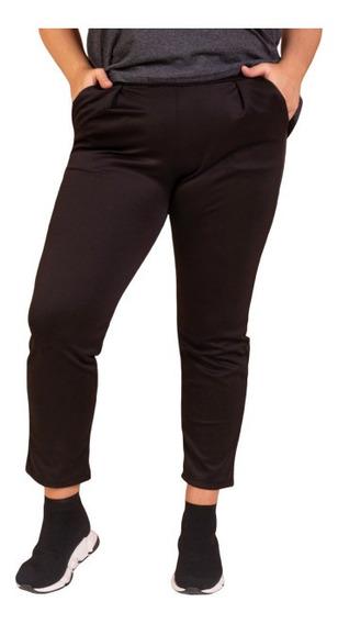 Pantalones De Mujer Pinzados Talles Grandes Y Especiales