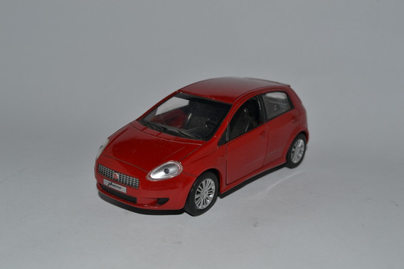 Miniatura Fiat Punto 1:32 Carros Do Brasil Usado