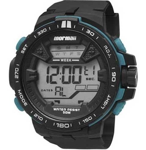 Relógio Mormaii Digital Esportivo Mo3390/8v Original + Nf