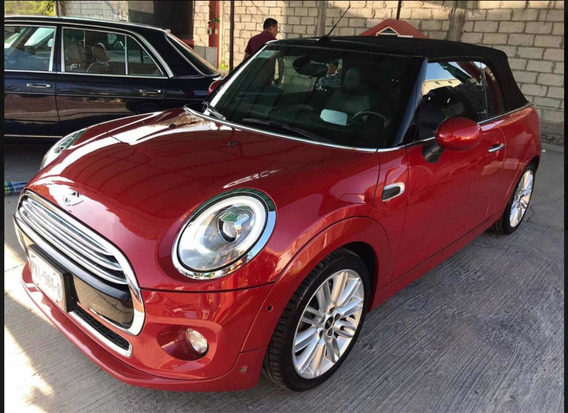 Mini Cooper 1.6 Pepper Convertible At 2017