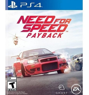 Need For Speed: Payback Ps4 Fisico