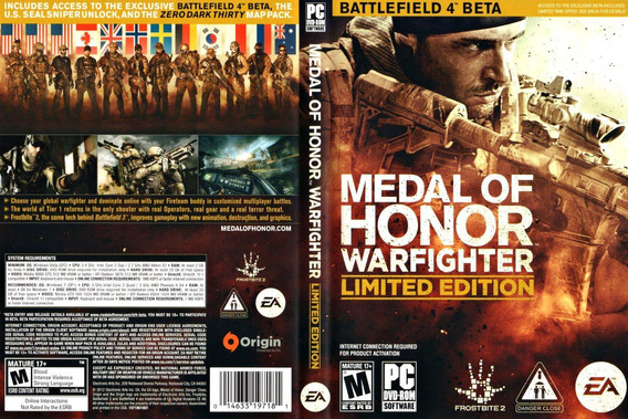 Medal Of Honor: Warfighter | Cd-key Origin |