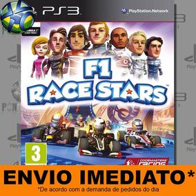 Jogo Ps3 F1 Race Stars Psn Play 3 Mídia Digital