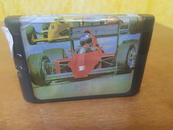 Fórmula 1 Genérica Idiomas E Legendas Usa Usada Mega Drive