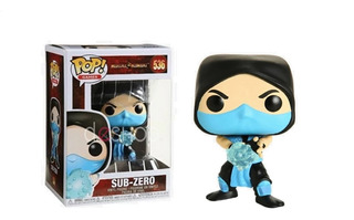 Funko Pop - Mortal Kombat - Scorpion - Subzero - Madalorian