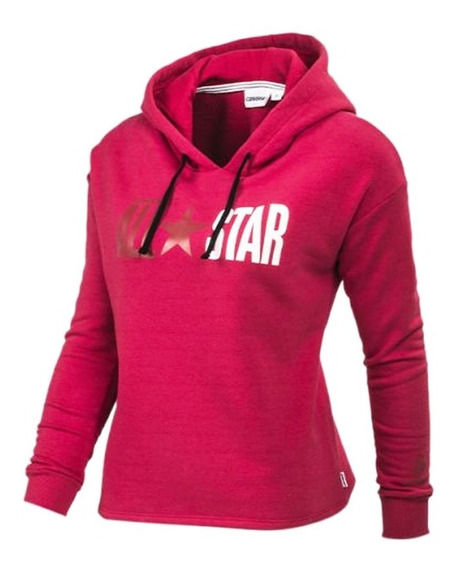 Buzo Canguro Converse All Star Icon Hoodie 8104