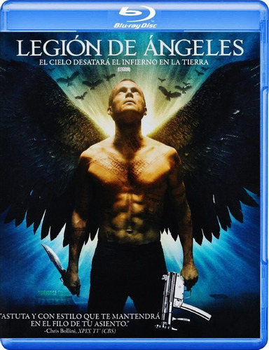 Legion De Angeles Blu-ray Nuevo Cerrado + Envio Gratis