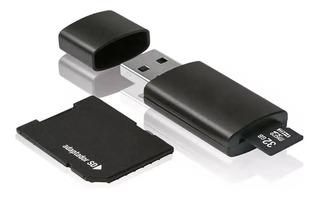 Kit Cartão Memoria 32gb Classe 10 E Adaptador Sd E Pendrive