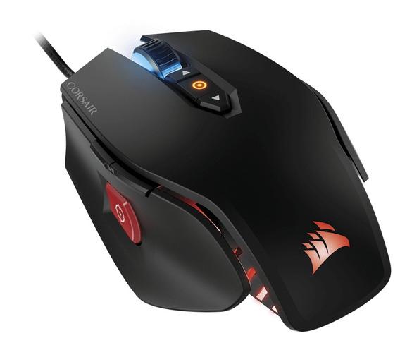 Mouse Gamer Corsair M65 Pro Rgb 12000dpi Ch-9300011-na Preto