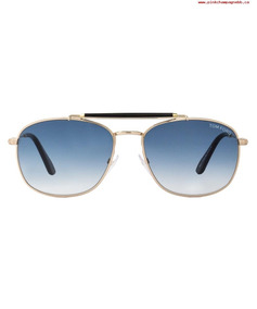 4358c8d1aa Lentes Gafas Tom Ford Ft0339 Marlon Gold Black Made In Italy